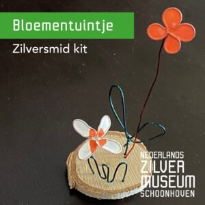 Zilversmid kit bloementuintje