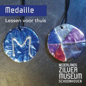 les medaille maken - zilvermuseum
