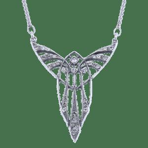 Collier met Swarovski kristallen