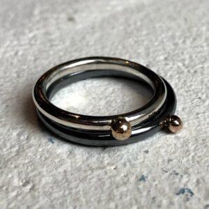 Ring zilver MEIRER DESIGN Zilversmederij