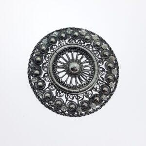 Nieuwlandse knoop filigrain Cor Kuijf Zilvermuseum
